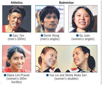 Singapore's Maiden Olympians