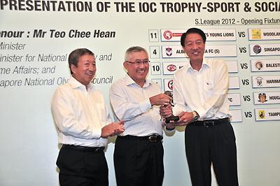 2012 IOC Trophy
